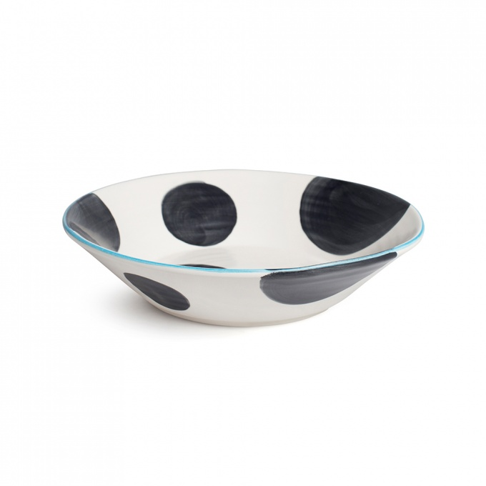 BlissHome - Product Details | Spots Charcoal Supper Bowl