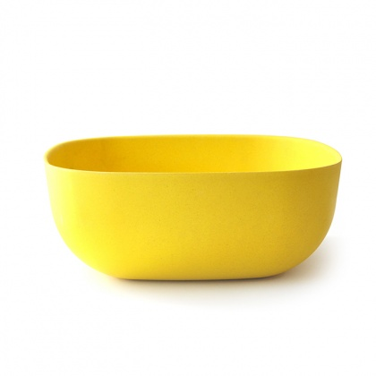 Gusto Large Salad Bowl Lemon: click to enlarge