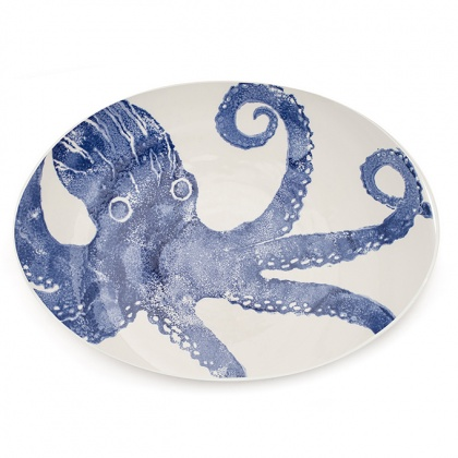 Giant Oval Platter Octopus: click to enlarge