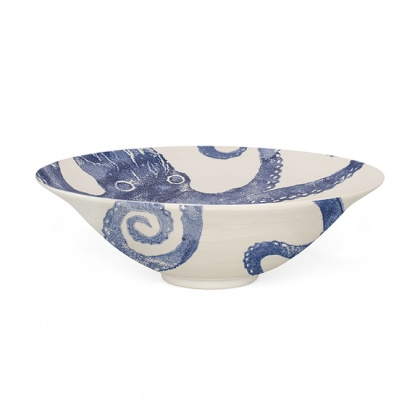 Salad Bowl Octopus Blue: click to enlarge
