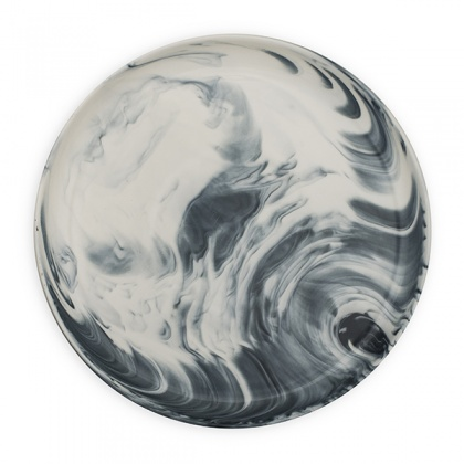 Marble Dinner Plate Grey: click to enlarge