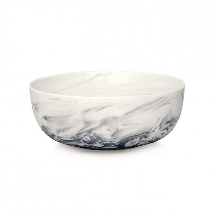 Marble Salad Bowl Grey: click to enlarge