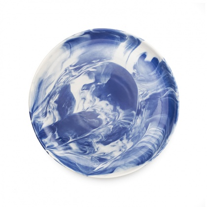 Marble Side Plate Blue: click to enlarge