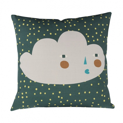 Cloudy Face Cushion: click to enlarge