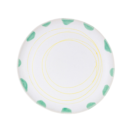 Blue Lagoon Dinner Plate: click to enlarge