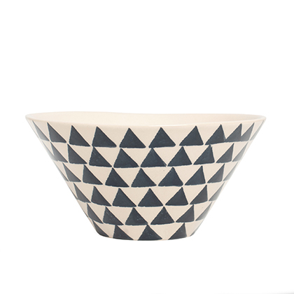 Dark Blue Cereal Bowl: click to enlarge