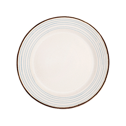Stripe Dinner Plate: click to enlarge