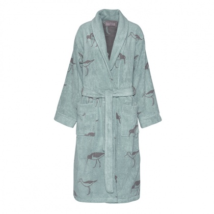 Oyster Catcher Bathrobe Green: click to enlarge