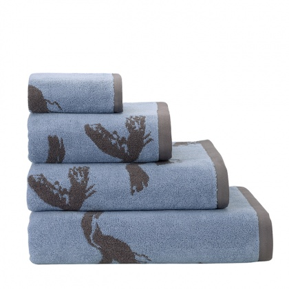 Seagull Towels Blue: click to enlarge