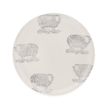 Dinner Plate Sheep: click to enlarge
