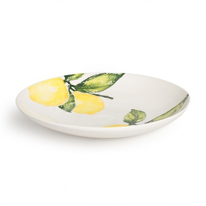 Extra Large Dish Lemon: click to enlarge