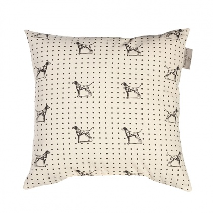 Dalmation Cushion: click to enlarge