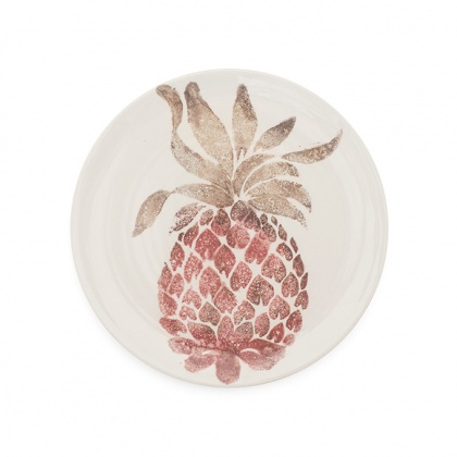 Side Plate Pineapple: click to enlarge
