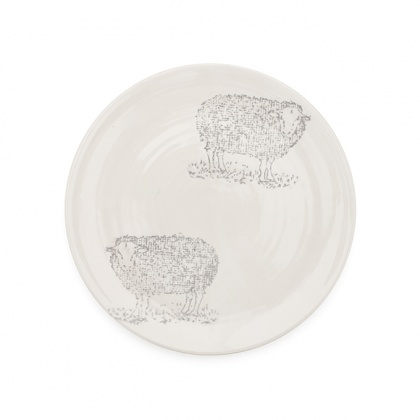 Side Plate Sheep: click to enlarge
