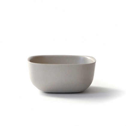 Gusto Small Bowl Stone: click to enlarge