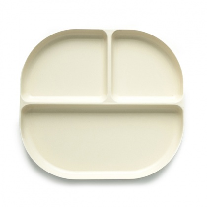 Bambino Divided Tray Off-White: click to enlarge