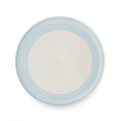 Spiral Dinner Plate: click to enlarge