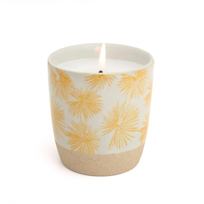 Scented Candle Palm Yellow: click to enlarge
