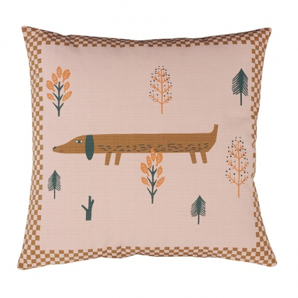 Sausage Dog Cushion: click to enlarge