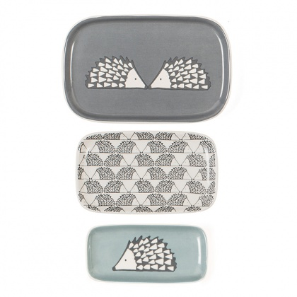 Scion Spike Trinket Dish Set/3: click to enlarge