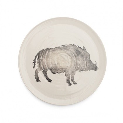 Wild Boar Platter Grey: click to enlarge