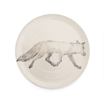 Fox Platter Grey: click to enlarge