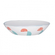 Pasta Bowl Scandinavian Folk