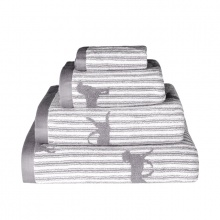 Labrador Towels Grey
