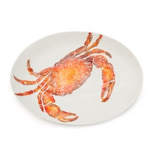 Crab Oval Platter