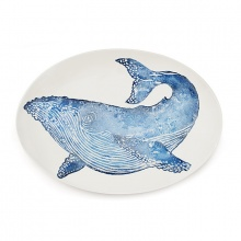 Whale Oval Platter