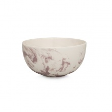 Marble Cereal Bowl Pink