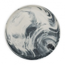 Marble Dinner Plate Grey