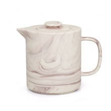 Marble Teapot Pink