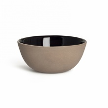 MONO CEREAL BOWL BLACK