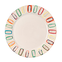 Multicolour Dinner Plate