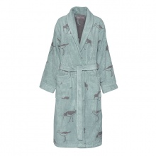 Oyster Catcher Bathrobe Green