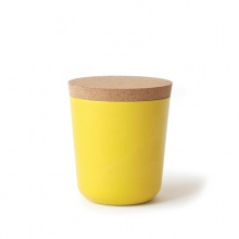 Claro Storage Jar Large Lemon