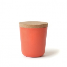 Claro Storage Jar Large Persimmon