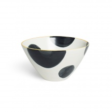 Spots Charcoal Cereal Bowl
