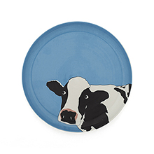 Cow Side Plate