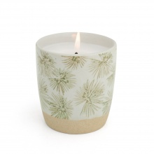 Scented Candle Palm Green