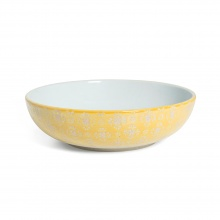 Supper Bowl Yellow Lace