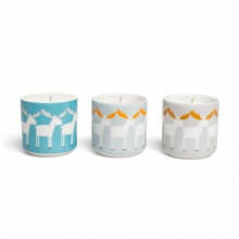 Marty Moose Candle Set/3