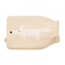 Mr Fox Hot Water Bottle Parchment