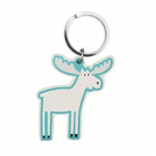 Marty Moose Key Ring