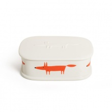 Mr Fox Trinket box Oval