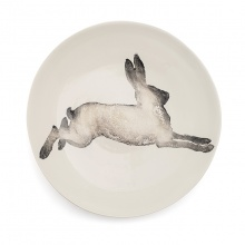 Hare Serving Bowl Large Grey