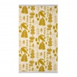 Bird & Tree Towels Mustard
