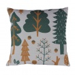 Forest Cushion Grey