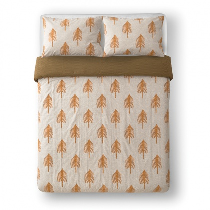 Single Tree Bed Linen Cream: click to enlarge